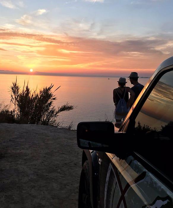 Sunset Jeep Safari Tour Corfu | X Adventure Club Corfu