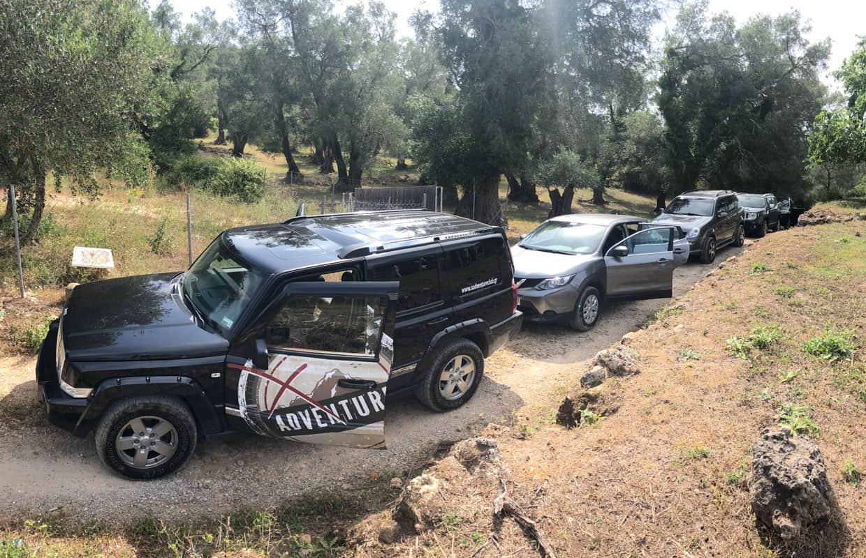 Jeep Safari Tour in NW Corfu | X Adventure Club Corfu
