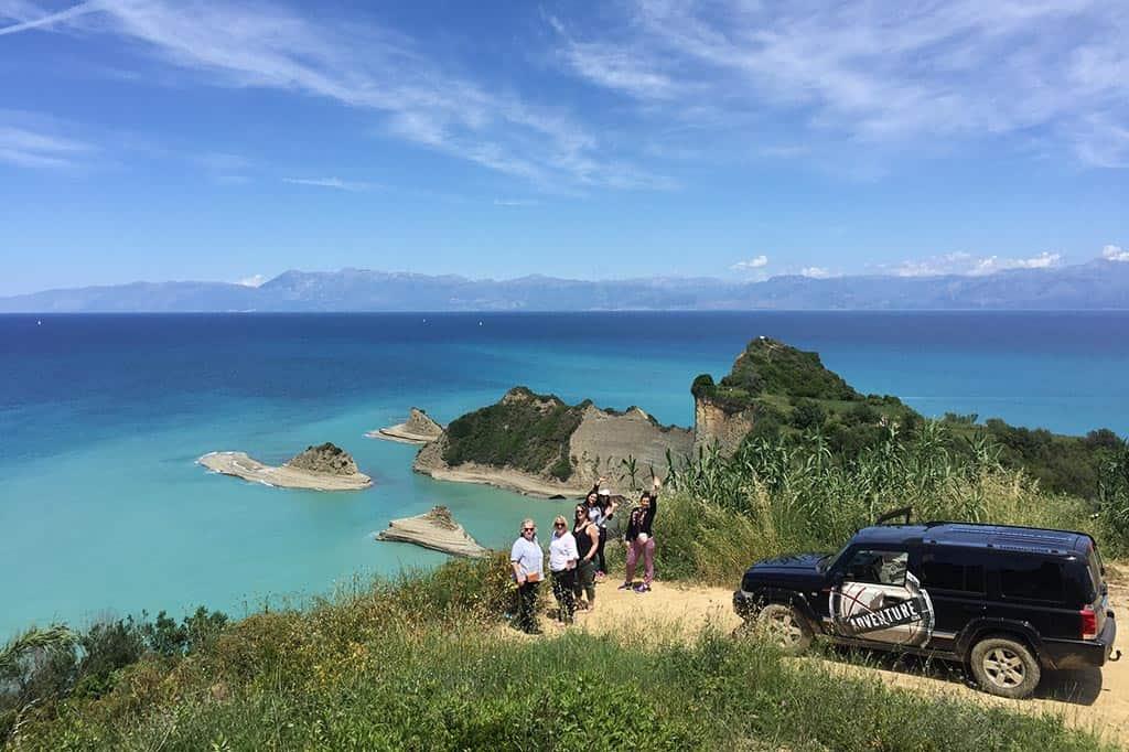 Cape Drastis Corfu | X Adventure Club Corfu